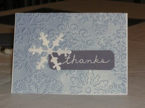 Wintry Thanks Script