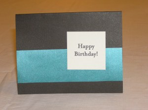 Highly reproducible: Letterpress square from Paper source on a colored card with contrasting paper