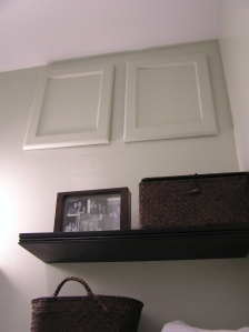 "I put a cabinet in when we found a hole above where my coat ""closet"" ends...its tough to reach, but never say no to storage!"