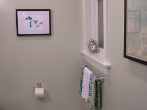 Bathroom Final Window & Towel Bar