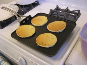 Pancakes Cooked