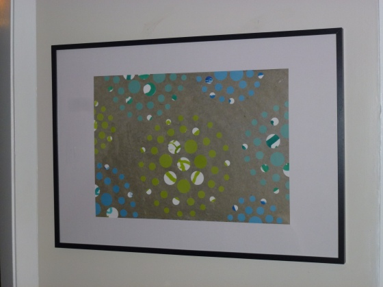 Circle Art: Framed