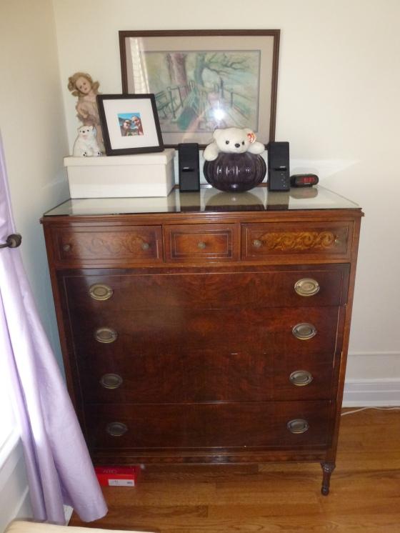 Inlaid dresser