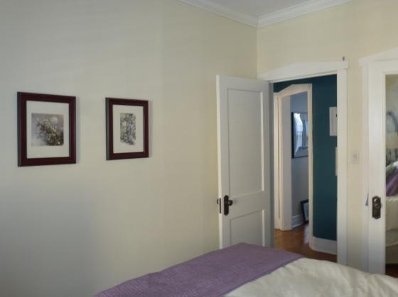 Bedroom from Windows