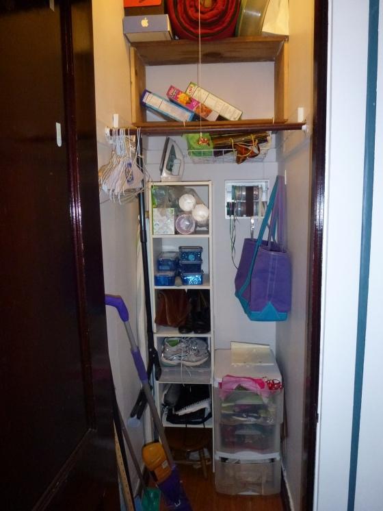 Hall Closet old