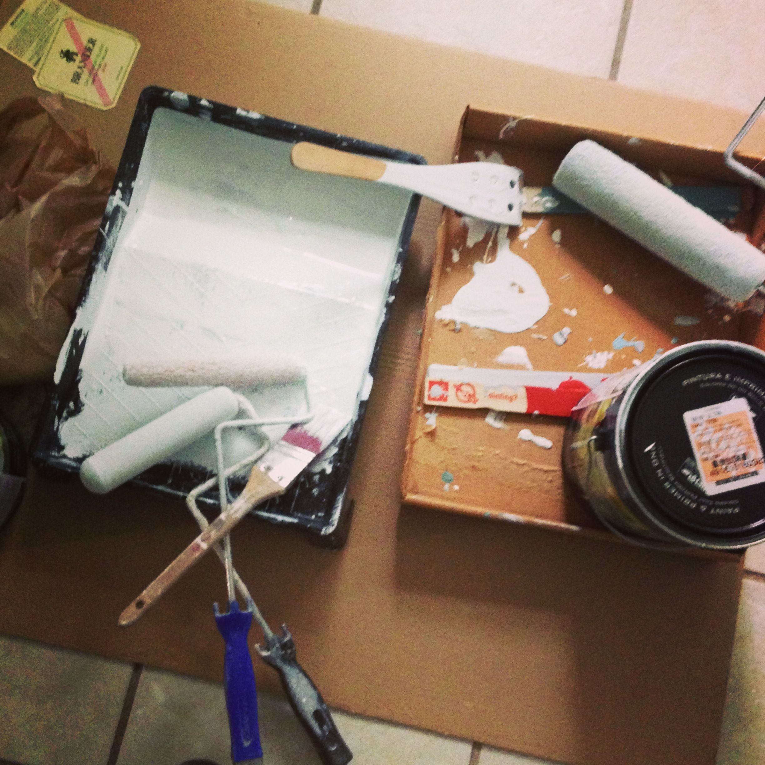 Supplies For Painting A Room living room: a paint saga in three acts | homemade•handmade