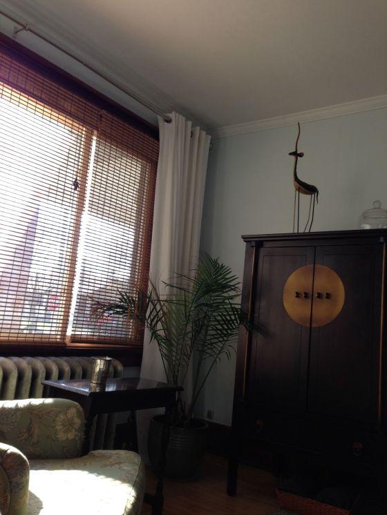 TV corner after