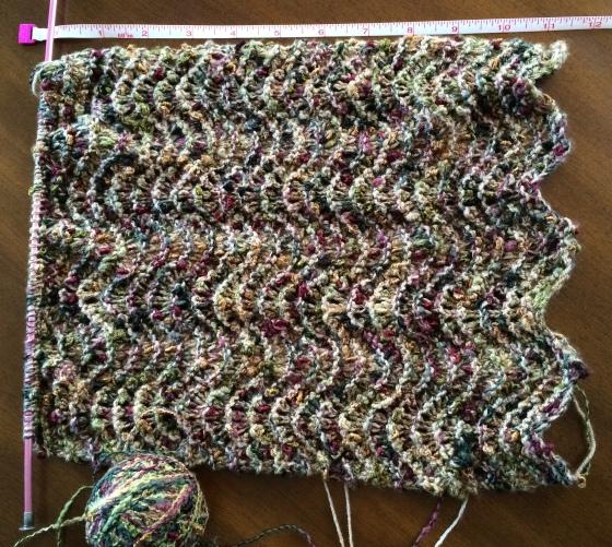 wavy scarf